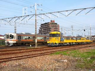 東海道本線 回9893D キヤ97-104+キヤ97-4