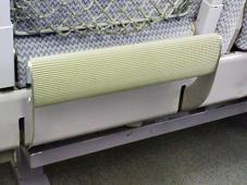 キハ84-205のフットレスト