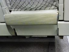 キハ85-1106のフットレスト