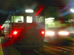 893D(左)と892D(右) 西富山