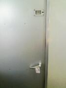 キハ40 6308のトイレ(締め切り)