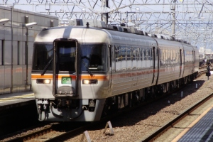 2025D 岐阜3番線到着