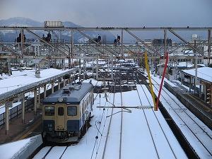 2008年1月2日@糸魚川駅 キハ52 125 429D
