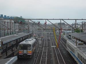 2011年8月18日@糸魚川駅 キハ120-354 436D