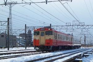 試8520D キハ40 6309+キハ48 5804 岐阜タ発車