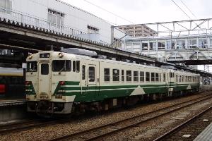 1132D到着編成 秋田 14/07/15(12:51)