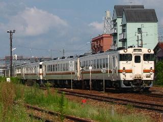回781D 鵜沼発車