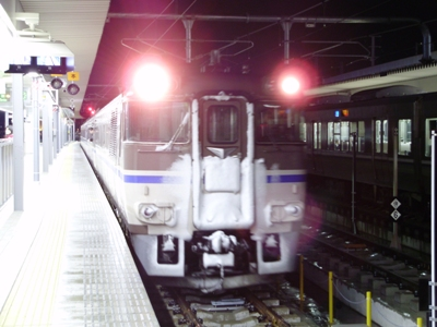 6D 姫路2番線に到着