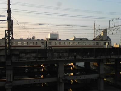 岐阜駅米原方引上線で休むキハ48 5803たち