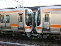 6連回送の分割部分 名古屋