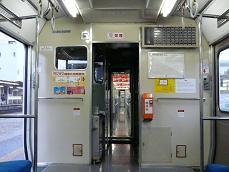 キハ40 3306乗務員室仕切り(前位側)
